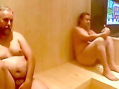 2 Bears a bloke fucking in the sauna 2 MILFs by neurosiss