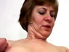 Nice Nipples on Little Titties Mature in Stockings Fucks