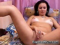 Real milf masturbates like a whore 5 by exposedmum