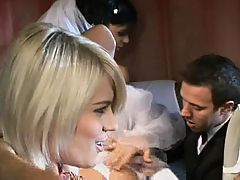 The Bride & Groom Share Each Other Cbr