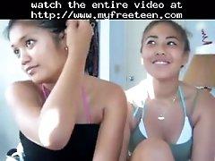 2 sexy girls dancing teen amateur teen cumshots swallow