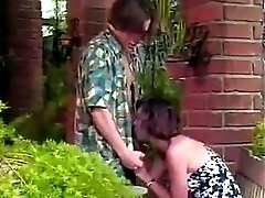 Stepmom watches stepdaughter fuck on the front porch MC169