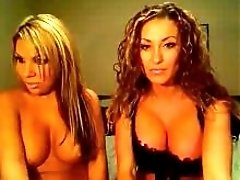 2 Gorgeous Women Teasing On Cam
