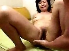 Japanese Granny Sucks Swallows & Squirts Uncensored