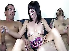 Jerking Two Big Cocks