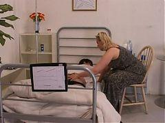 Aunty's visit to hospital