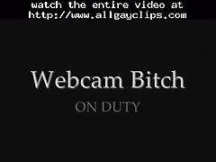 Webcam Bitch On Duty Gay Porn Gays Gay Cumshots Swallow