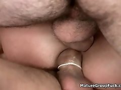Horny Cowgirl Is Fucked By Three Cowboys Who Are Totall