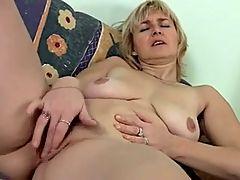 Masturbating mom