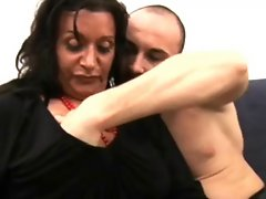 Italian chunky mature wants a young cock