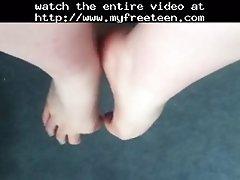 Wiggling My Little Feet Teen Amateur Teen Cumshots Swal