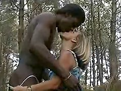 Hot Mature DP In The Forest