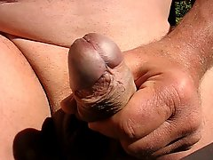 65 Yrold Grandpa Close Penis #6 Wank Upclose Closeup Mature