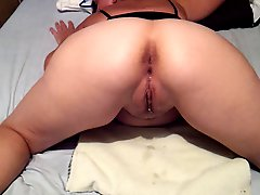 Cum Drip From My Wife's Hot Pussy