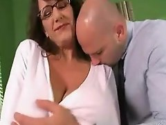 Hot Busty Milf Banging Hard