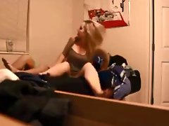 Blonde MILF On Real Hidden Cam