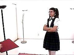 Schoolgirl Punished