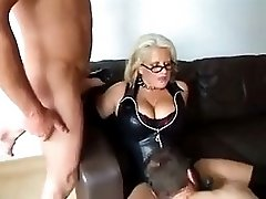 Blonde Mature Fucks Her Husband