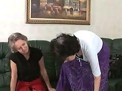 Granny lesbian grandmas Laura or Orah and Sandra