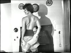 Yvonne's striptease