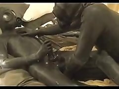 Horny Latex Rubber Play Part 3 Time for some anal action