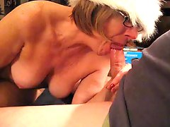 Xmas blow job by Mrs Commish