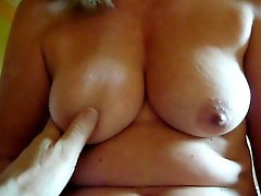 Cockstroking wife