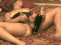 BBW takes two fists and bottle