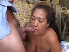 Asian chick ass fucked