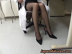 Amazing Nurse Is A Hot Mature Gal With Big Tits 1 By Ja