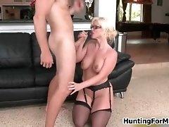 Nasty Blonde MILF From Milfhunter Goes Crazy Sucking On