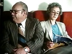 Stewardesses fuck and suck in 'Sky Foxes' 1986 part 2