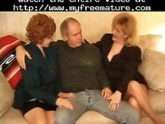 Kitty Foxx Threeway With A Mature Mature Mature Porn