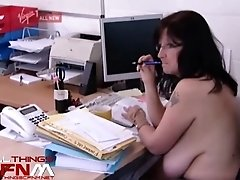 Office Workers Work Completely Nude