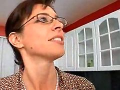 Mature Teacher Seduce Her Student