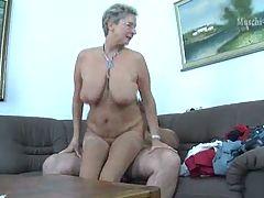German mature Angie 52y