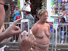 Naked In Public 1