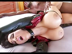 Huge Tit Latex Milf Interracially Black Balled