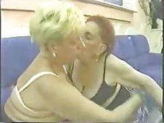 True amateur lesbian grannies having fun