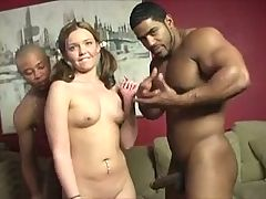 Awesome Pigtailed Girl Enjoys A Bbc Gangbang Orientalist