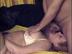 Whipping very horny granny