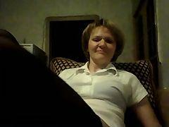 Hot 43 Yo Russian Mature Olga Play In Skype