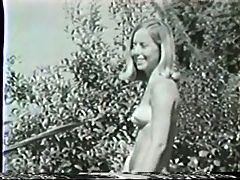 Two Girls at Pool Vintage Camaster