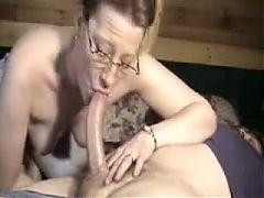 Hot mature deepthroat