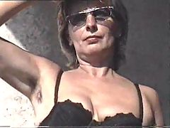 Marion From Hairy Germany With Unshaven Armpits 03 Stinke Schluepfer Modenschau