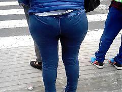 Culona en jeans