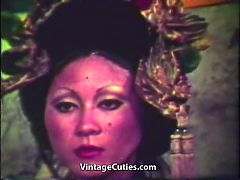 Geisha Tells And Shows Her Secrets 1960s Vintage