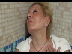 Mature shower 2