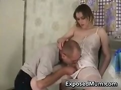 Chubby Mom Loves Her Pussy Eaten By Exposedmum