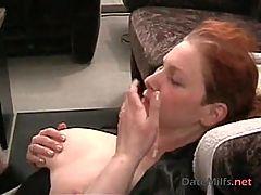 Redhead German MILF Facial DateMilfs dot net